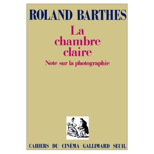 Photo num rique la chambre claire roland barthes for Chambre claire roland barthes